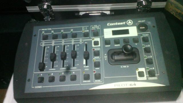controladora dmx pilot 64