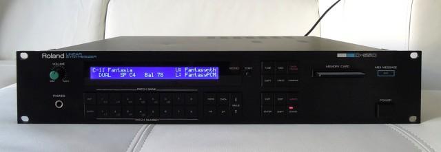 Roland D-550, revisado y actualizado con pantalla LED