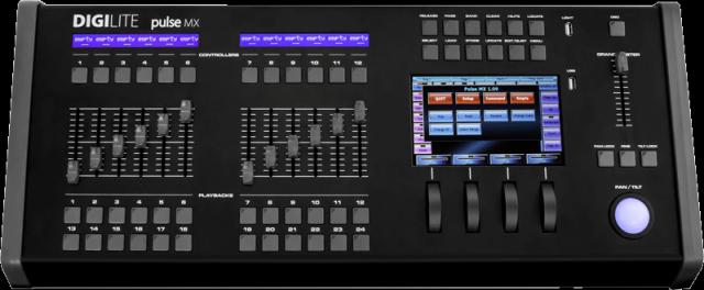 Digilite Pulse MX con Flightcase original
