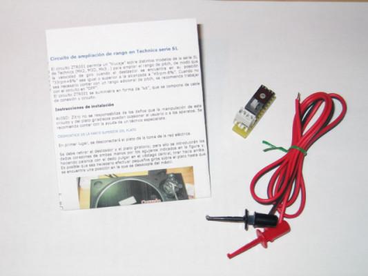 Circuitos Zitro ORIGINALES (hechos por mí, Zitro) para trucar Technics