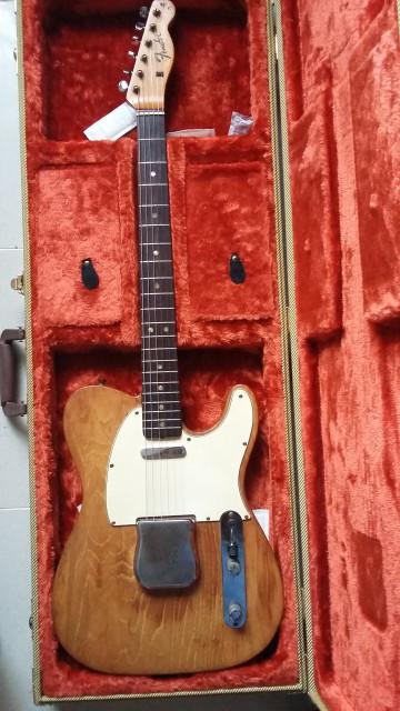 Fender Telecaster de 1967 (RESERVADA A FALTA DE CONFIRMACIÓN DE PAGO)