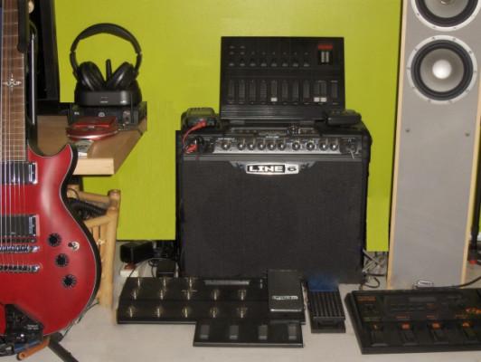 "Spider Jam+Pedalera FBV Shortboard MKII - MIDI/USB ""Line 6""+++Negociable+++"