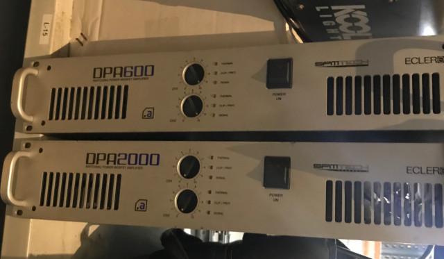 Etapa de potencia ECLER DPA600