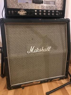 """Pantalla MARSHALL 4X12"""" (Original Años 70, mueble y speakers pre-rola)"""