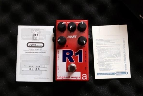 Pedal/Preamplificador AMT R1