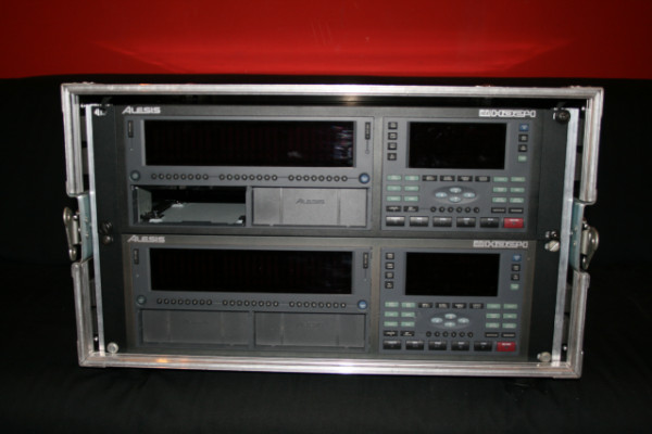 2 Alesis HD24 ADAT + rack + regalos