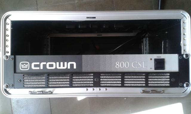 etapa de potencia CROWN800CSL