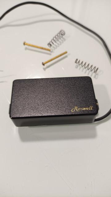 Pastilla activa Roswell LZ51N-BLK (neck)