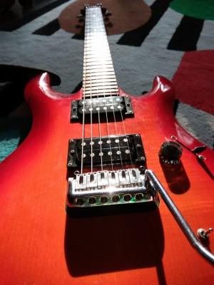 Guitarra eléctrica Cort Pro SB + funda