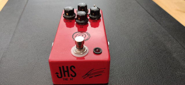 JHS Andy Timmons signature. RESERVADO