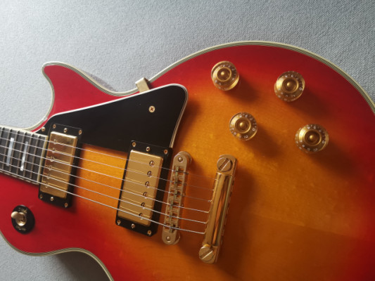 Cambio Gibson les paul Custom cherry sunburst, también vendo 2800€