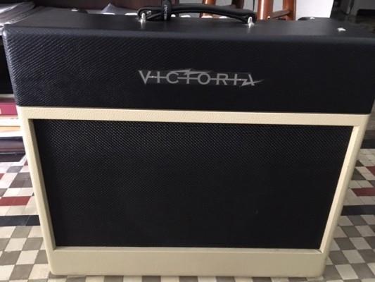 Vendo Victoria Silver Sonic (Circuito 5-F6A Fender Bassman)