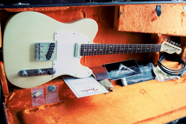 Fender Custom Shop '62 Tele Relic Yuriy Shishkov Masterbuilt