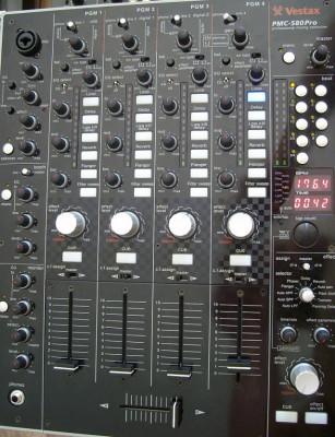 Mesa mezclas VESTAX PMC 580 PRO
