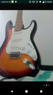 Guitarra eléctrica freeman