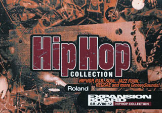 "Tarjeta Roland SR-JV80-12 ""Hip Hop Collection"""