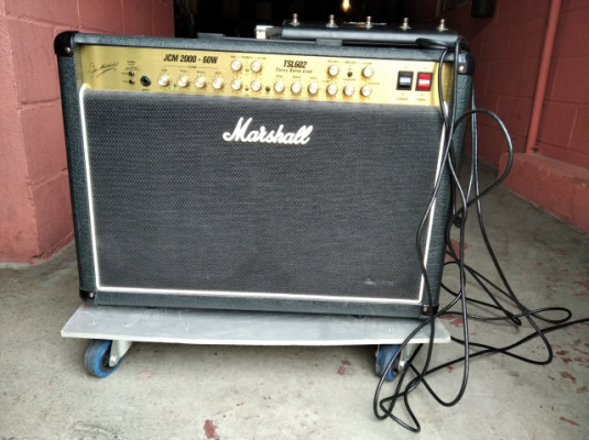 Marshall TSL 602. JCM 2000