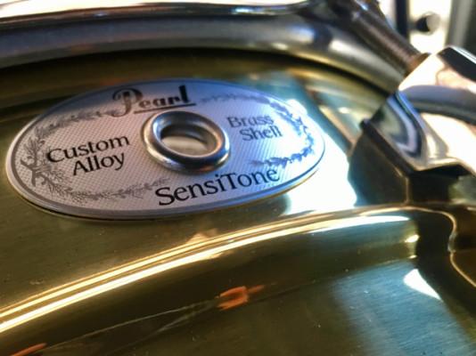 Caja Pearl Sensitone Brass 14x5,5