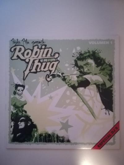 Vinilo hip hop rap Pablo Pila presenta Robin Thug 1