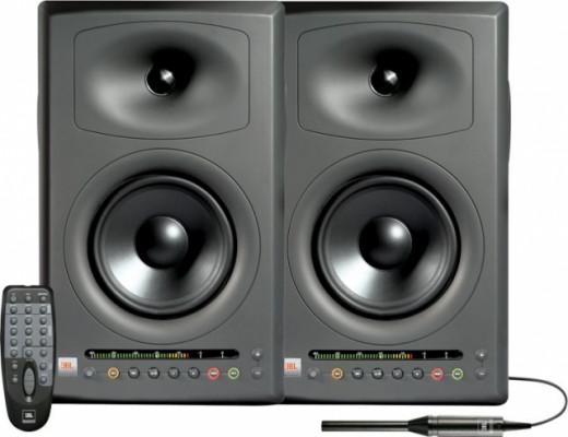 Monitores JBL LSR4326 Pak