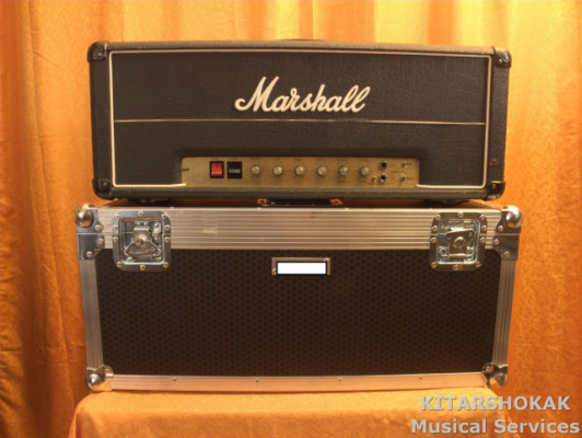 MARSHALL JMP 2203 VINTAGE ´77 HOT ROD MOD. + FLIGHT CASE