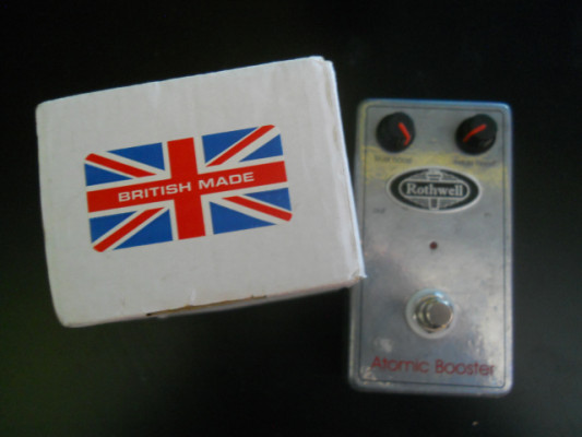 pedal overdrive, Treble boster,  ROTHWELL Atomic Boster