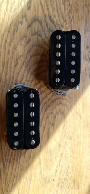 Vendo pareja de pastillas humbucker Gibson 496R/500T