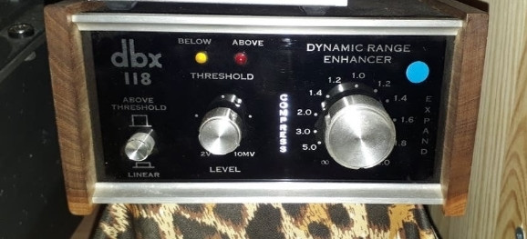 dbx 118 Dynamic Range Enhancer