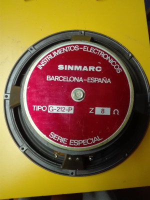 Altavoces Sinmarc