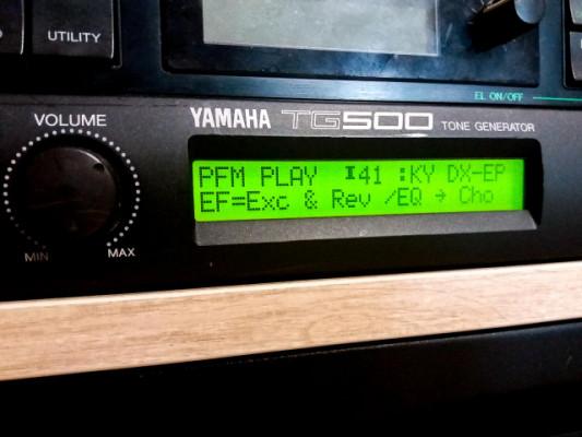 Yamaha TG500 Sintetizador Rack