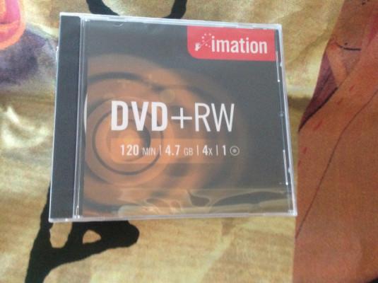 dvd+rw imation caja con 100 dvd