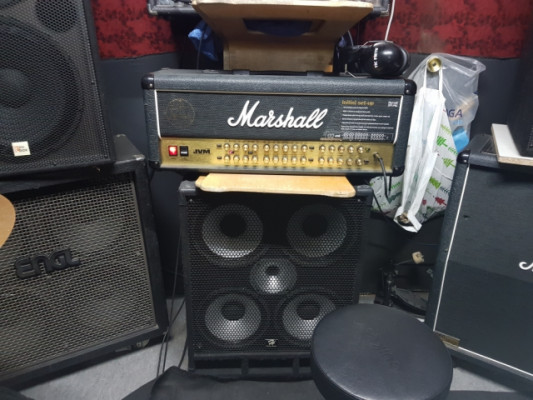 Marshall 410h . Válvulas 4 canales  100w
