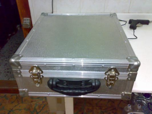 maleta aluminio flightcase para mesa de mezclas