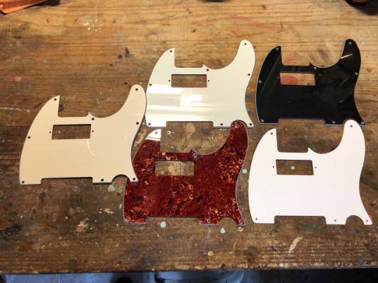 Set Golpeadores Telecaster Minihumbucker
