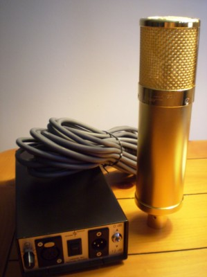 Lawson L47 MP tube Mic gold