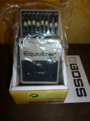 -boss equalizador ge7
