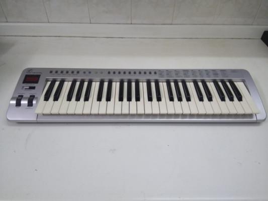 piano teclado midi evolution