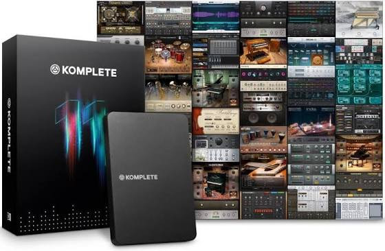 Native Instruments Komplete 11 (requiere hardware native)