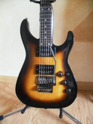 Cambio por Strato Guitarra Floyd Rose + Seymor Duncan - Luthier Heart Art Strain
