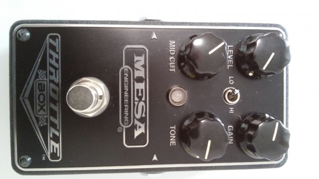 PEDAL DISTORSION GUITARRA MESA BOOGIE