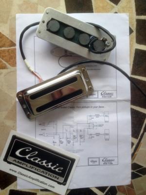Pastillas Classic Amplification para Rickenbacker 4004