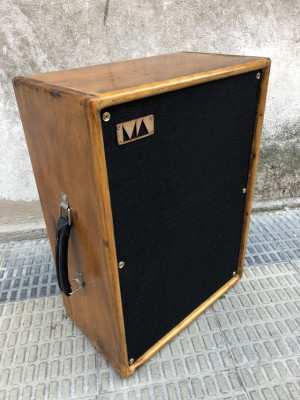 "Pantalla 2x10"" Mike Custom Amps Aged Wood"