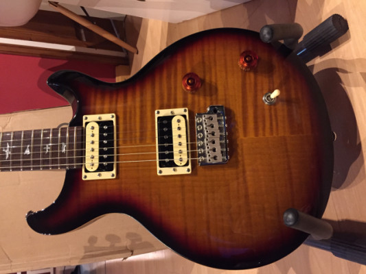 PRS SE Santana 3 tone sunburst