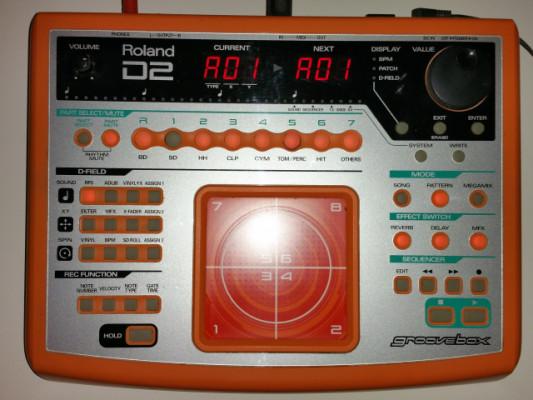 Roland D-2 Groovebox - Secuenciador Sinte Vintage