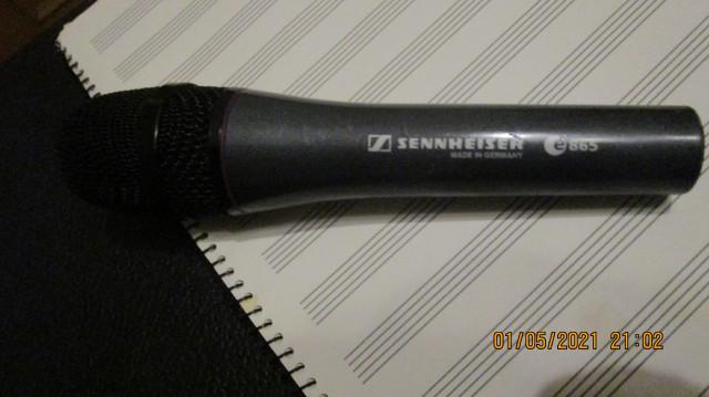 Micrófono Sennheiser E-865 condensador
