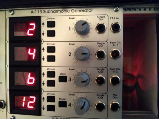 Doepfer Subharmonic Generator