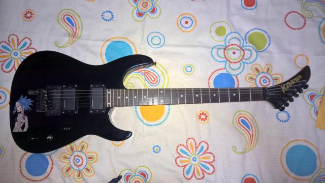 Kramer Baretta FR404S/D Seymour Duncan Blackouts guitarra