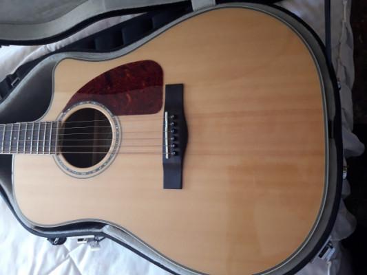 guitarra vendo ,cambio,electroacustica fender cd 220 sce