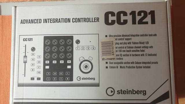 Steinberg CC121 + Footswich de regalo