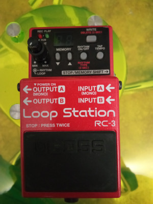 Boss rc3 looper